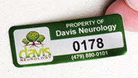 Full Color Anodized Aluminum Labels