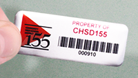 Anodized Aluminum Labels