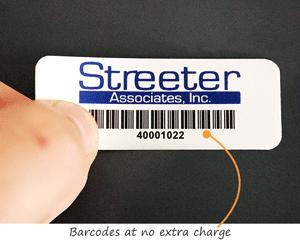 Barcodes at no extra charge