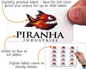Digital Custom Labels