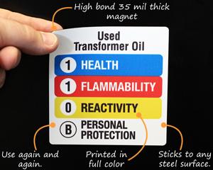 Custom Magnetic Labels