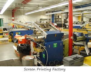 Screen Printing Factory