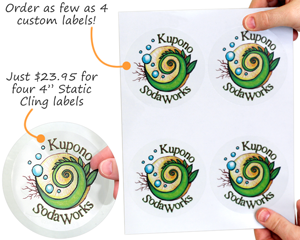 Static Cling Labels