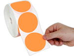 Colored Circle Stickers