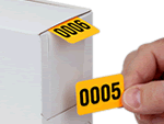 Consecutive Number Labels