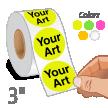 Custom Circular Label Quote 3