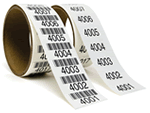 Consecutive Barcodes or Serial Numbers