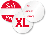 Round Sales Stickers