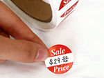 Sales and Size Stickers
