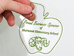 Static Cling Vinyl Stickers