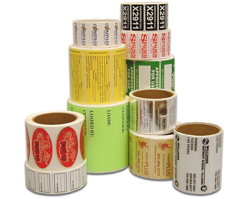 Custom Roll Labels Free Shipping From Labellab