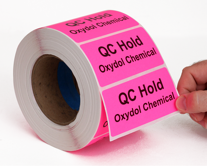 Fluorescent Labels Free Shipping From Labellab