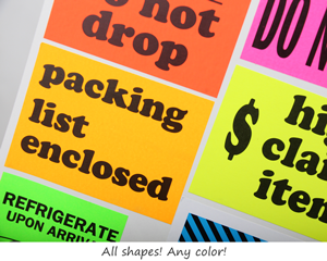 Fluorescent Label Colors