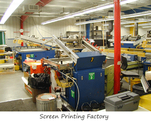 Screen Printing Factory