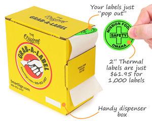 Thermal Labels Handy Dispenser Box