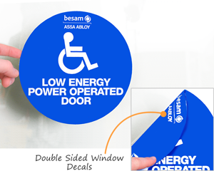 Double Sided Window Decals
