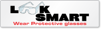 Look Smart Wear Protective Glasses Bumper Stickers