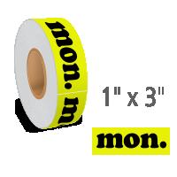 Monday Label