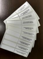 Thermal Transfer Label Sample