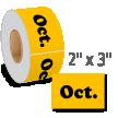 October Label