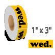 Wednesday Label