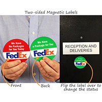 Magnetic Label