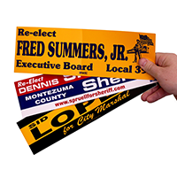 Custom Bumper Sticker, Removable