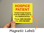 Magnetic Labels