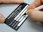 Debossable Aluminum Foil Labels