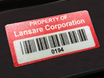 Velvet Lexan Labels